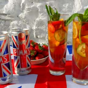 Pimms is listed (or ranked) 18 on the list The Most Quintessential British Brands