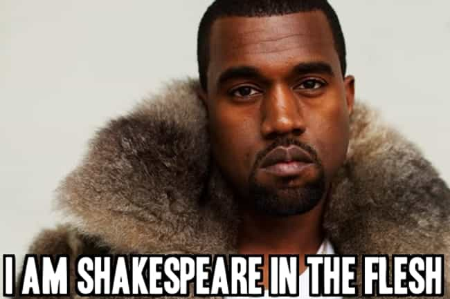 From the Proud Non-reade... is listed (or ranked) 4 on the list The 20 Most Insane Kanye West Quotes