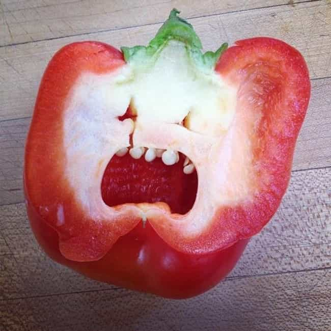 This Pepper is listed (or ranked) 3 on the list 41 Inanimate Objects Who Look Terrified
