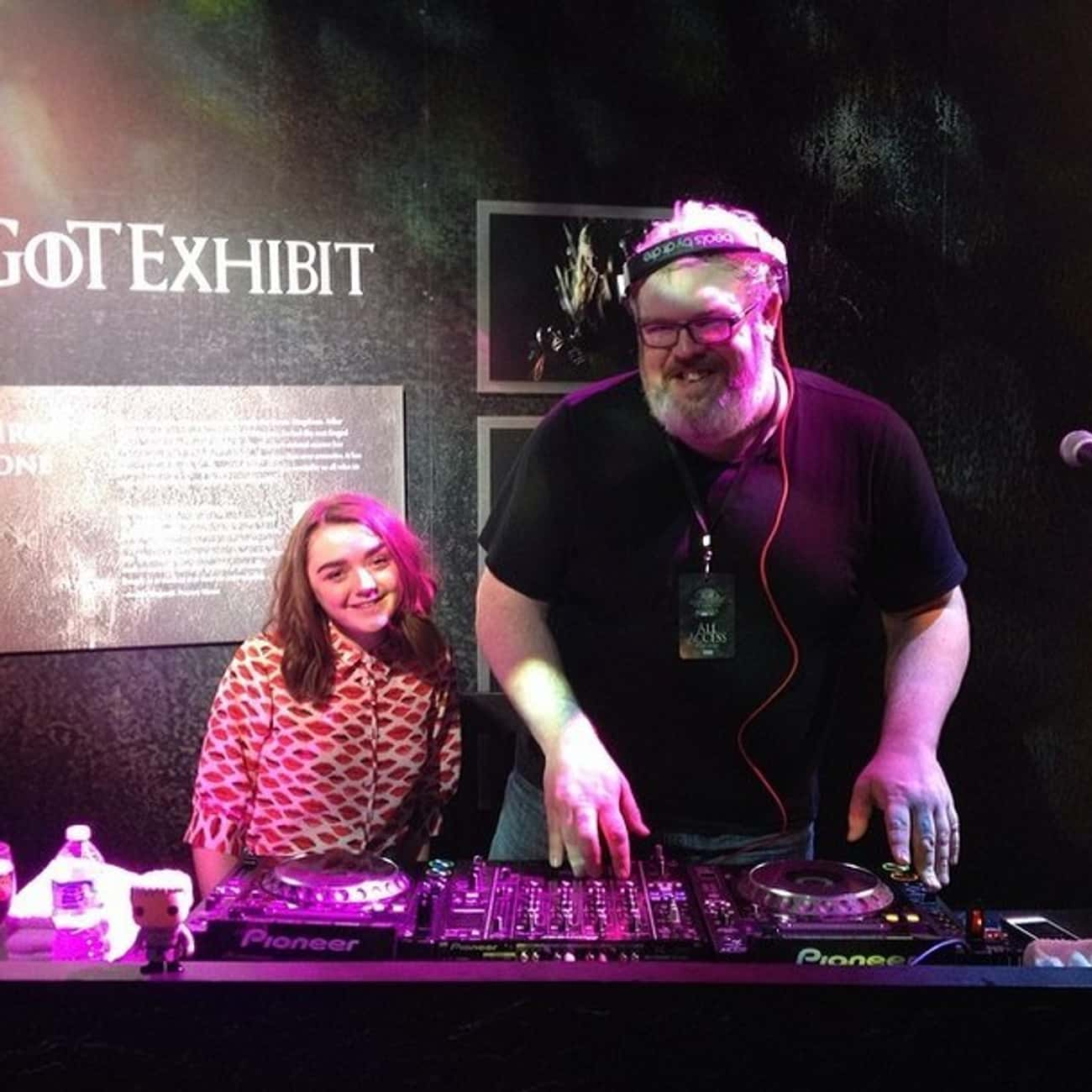 DJ Hodor Spinnin' Tunes is listed (or ranked) 4 on the list The Game of Thrones Actors in Real Life