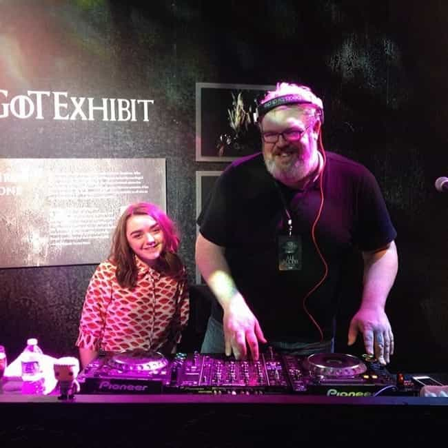DJ Hodor Spinnin' Tunes is listed (or ranked) 3 on the list The Game of Thrones Actors in Real Life
