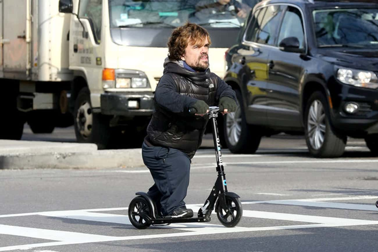 Tyrion's Ride is listed (or ranked) 3 on the list The Game of Thrones Actors in Real Life