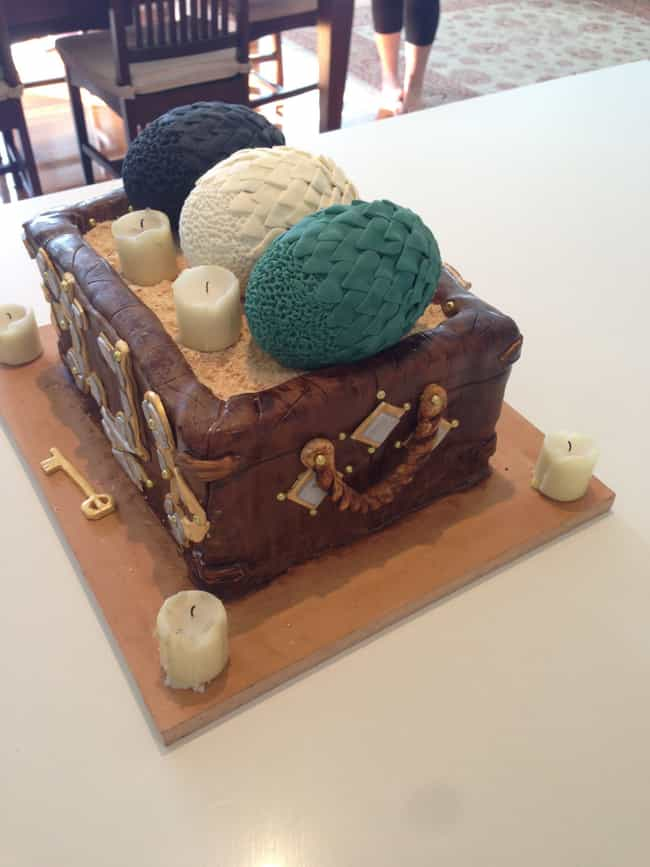 Dragon Egg Chest is listed (or ranked) 1 on the list 25 Game Of Thrones Cakes Just Waiting To Get Cut