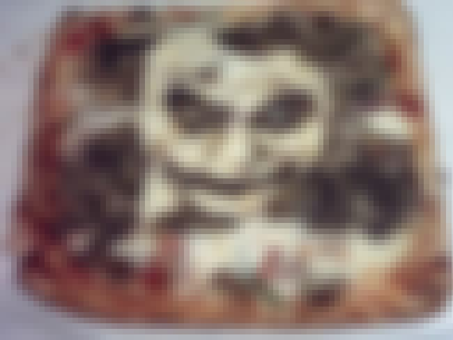 Heath Ledger Joker Pizza is listed (or ranked) 4 on the list The Greatest Pizza Art That Should Be in Museums