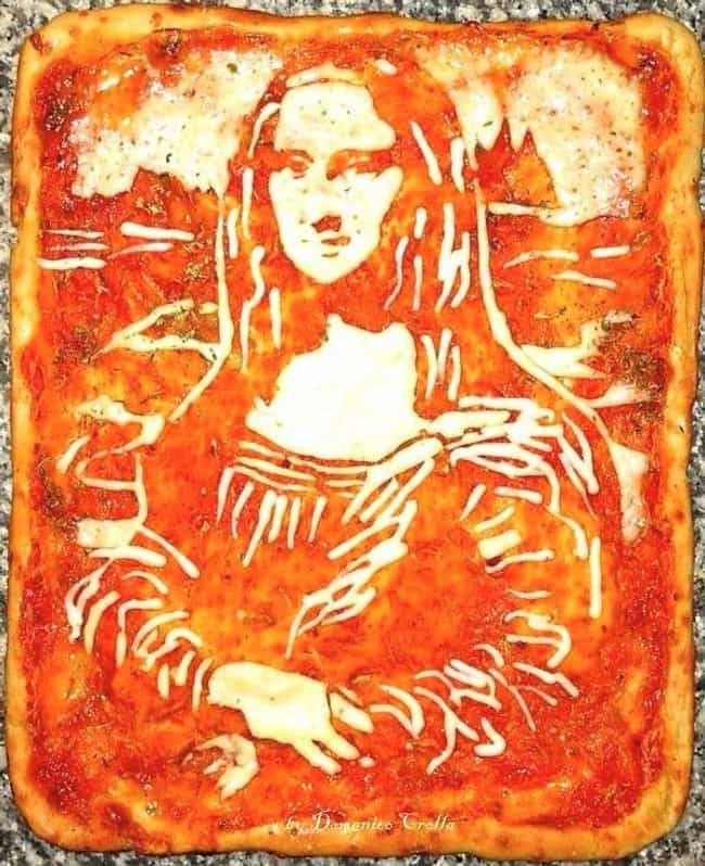 Mona Lisa Pizza is listed (or ranked) 2 on the list The Greatest Pizza Art That Should Be in Museums