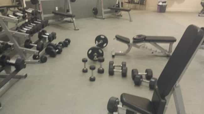 The People Who Refuse to Put A... is listed (or ranked) 2 on the list The Absolute Worst People at the Gym