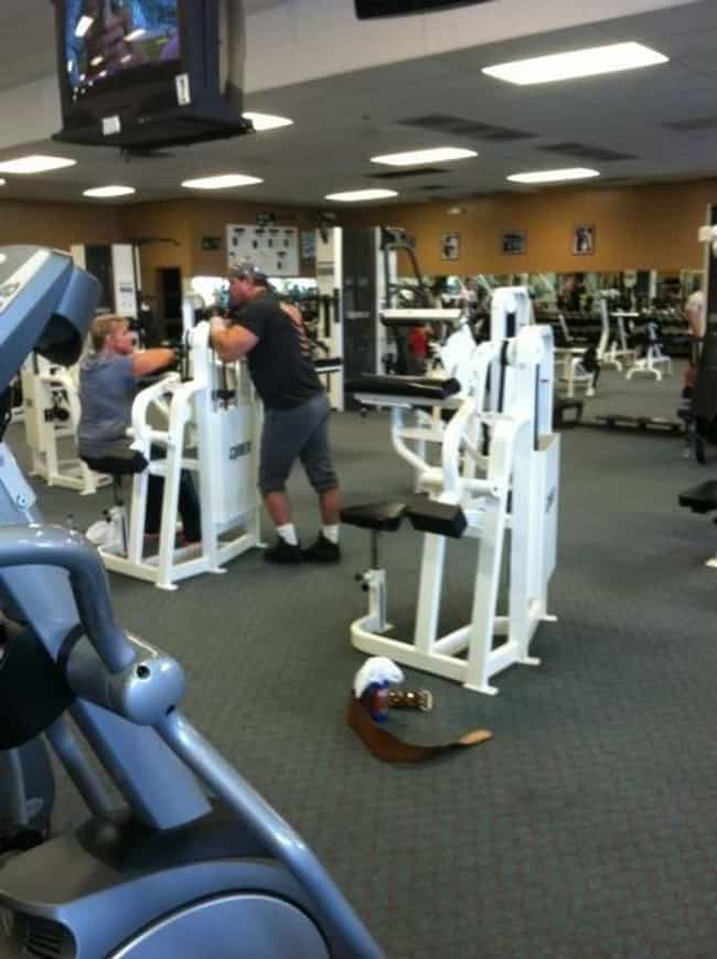 The Flirter is listed (or ranked) 8 on the list The Absolute Worst People at the Gym