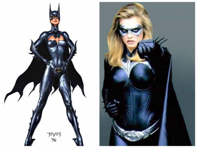 Batgirl Concept Art is listed (or ranked) 2 on the list Comic Book Concept Art That Was Better Than the Movie