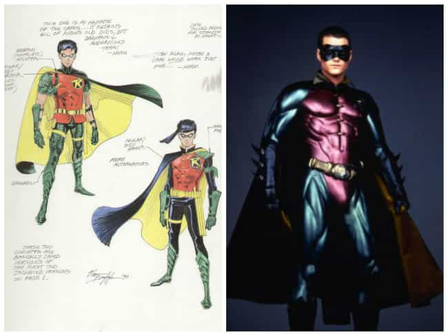 Robin Concept Art is listed (or ranked) 4 on the list Comic Book Concept Art That Was Better Than the Movie