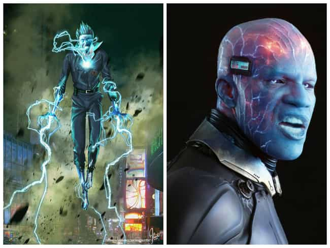 Electro Concept Art is listed (or ranked) 3 on the list Comic Book Concept Art That Was Better Than the Movie