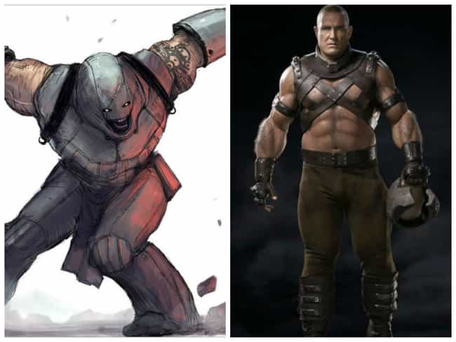 Juggernaut Concept Art ... is listed (or ranked) 1 on the list Comic Book Concept Art That Was Better Than the Movie