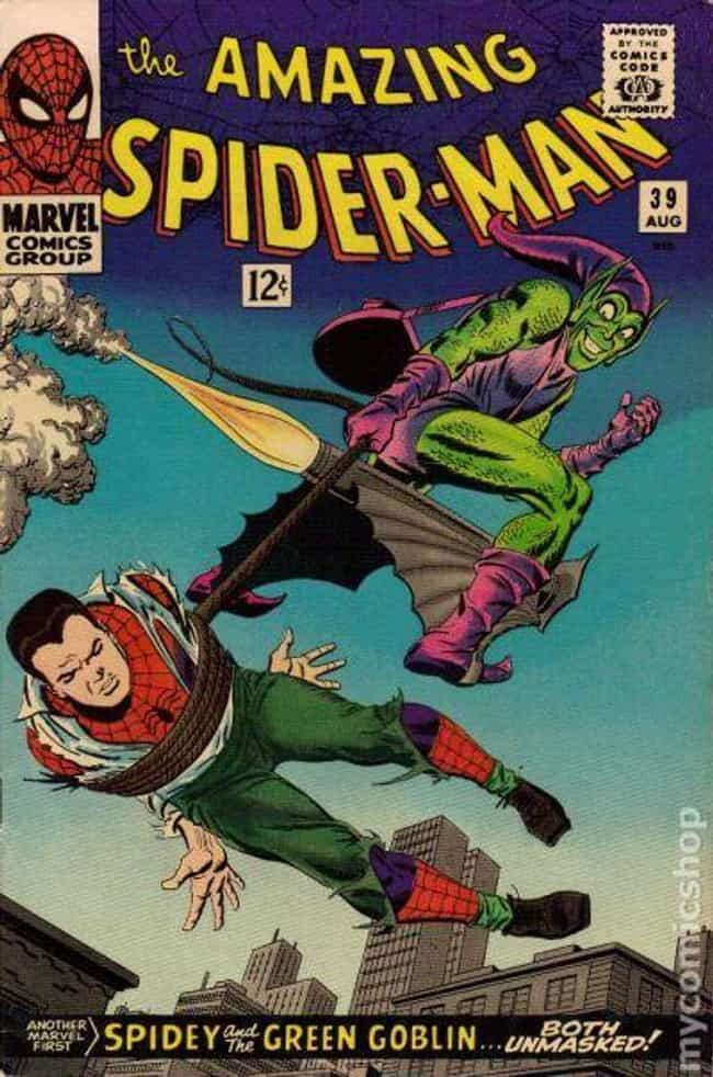 Amazing Spider-Man #39 ... is listed (or ranked) 3 on the list The Best Comic Covers of the 60s