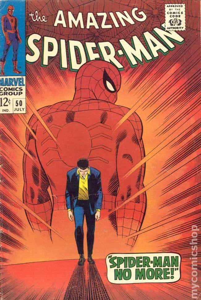 Amazing Spider-Man #50 ... is listed (or ranked) 2 on the list The Best Comic Covers of the 60s