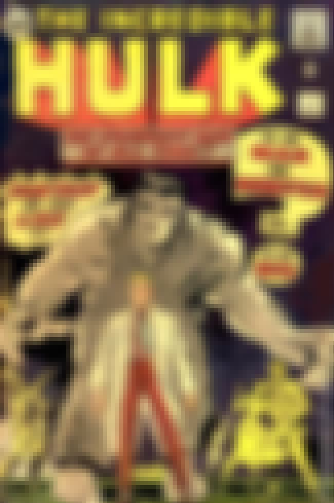 Incredible Hulk #1 is listed (or ranked) 3 on the list The Best Comic Covers of the 60s