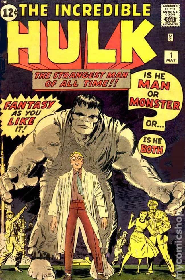 Incredible Hulk #1 is listed (or ranked) 2 on the list The Best Comic Covers of the 60s