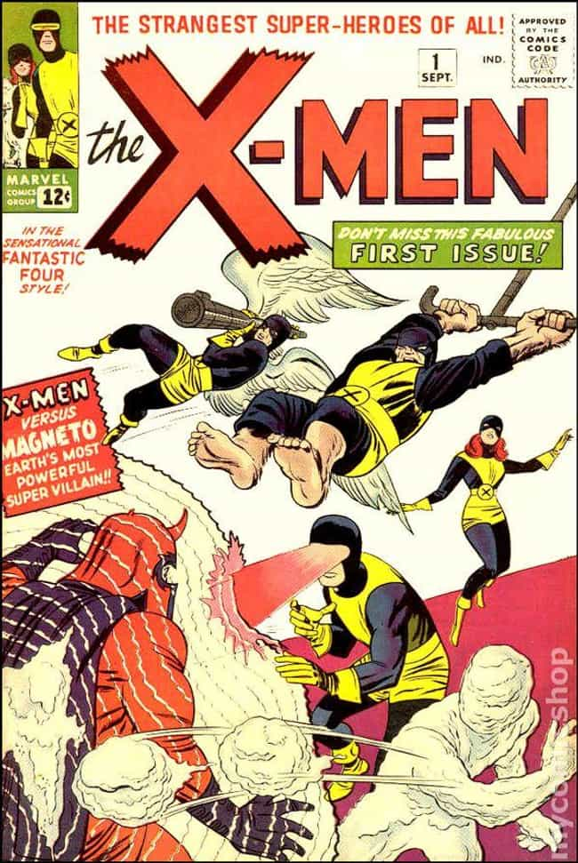 Uncanny X-Men #1 is listed (or ranked) 3 on the list The Best Comic Covers of the 60s