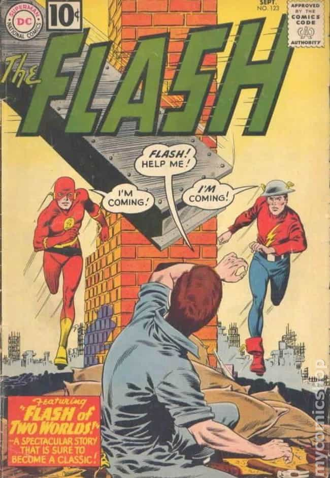 Flash #123 is listed (or ranked) 4 on the list The Best Comic Covers of the 60s