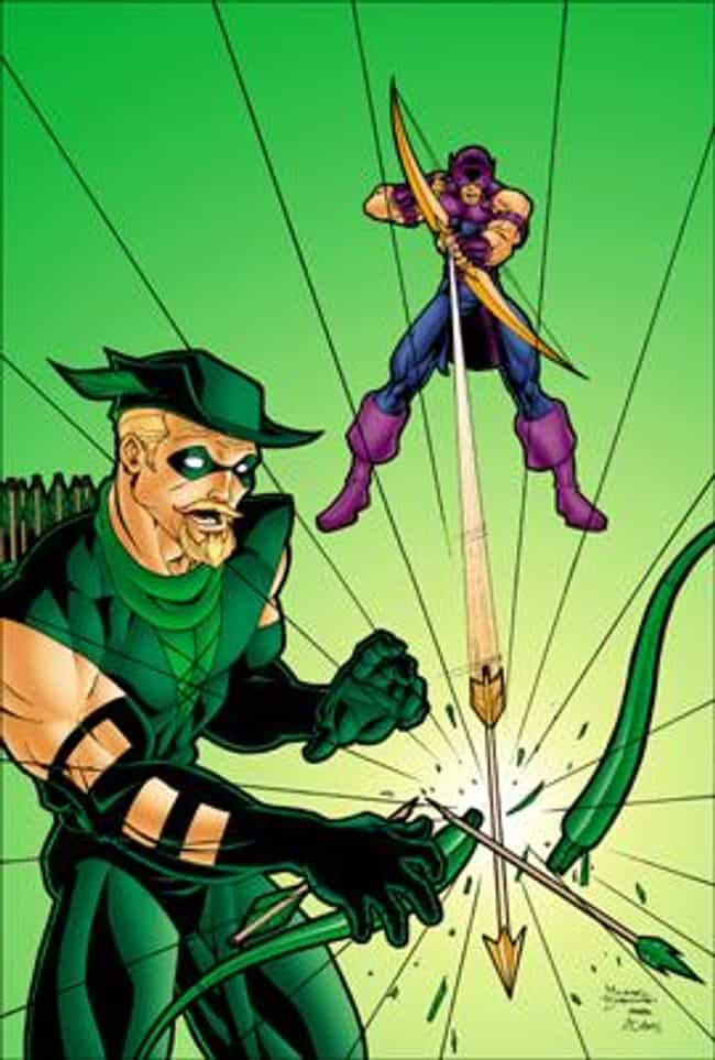 Green Arrow and Hawkeye is listed (or ranked) 2 on the list The Most Shameless Marvel/DC Counterparts & Analogs