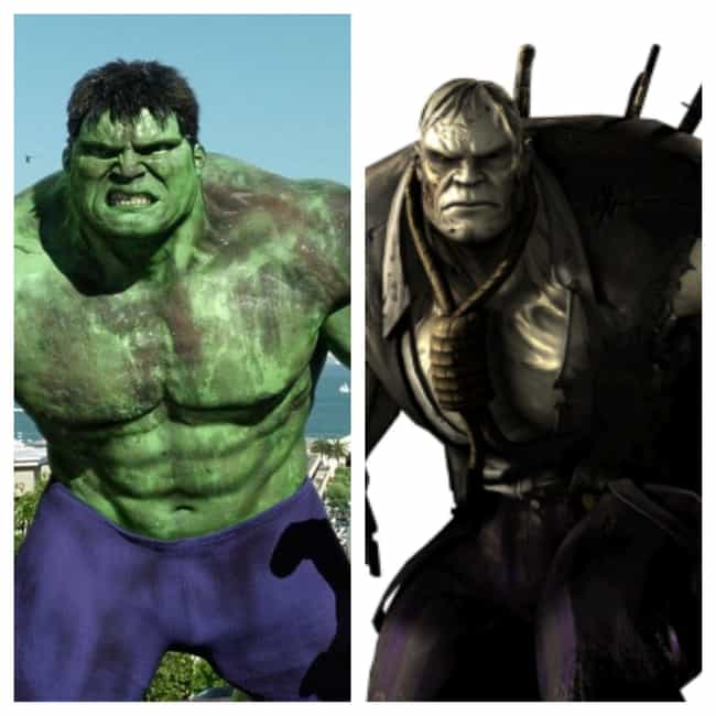 Solomon Grundy and Hulk