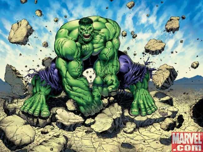 Hulk is listed (or ranked) 4 on the list The Best Catchphrases in Comics