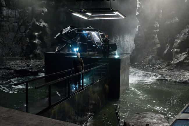 Batman's Batcave is listed (or ranked) 1 on the list Superhero Lairs