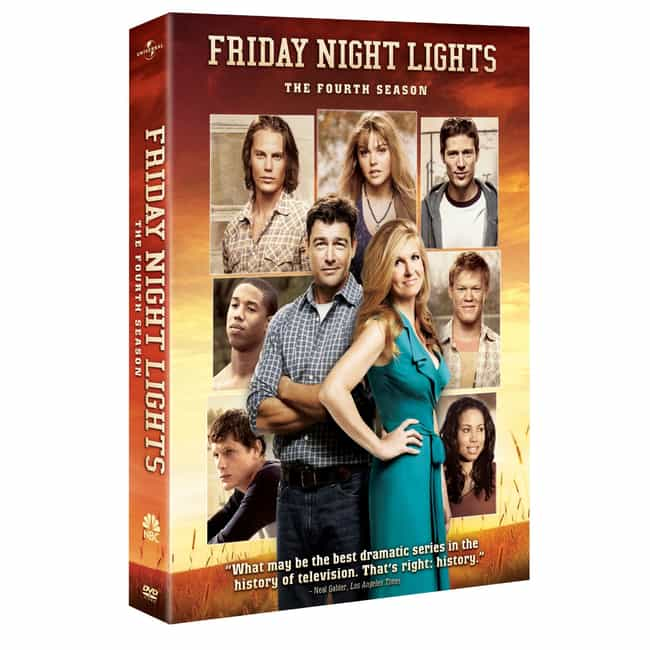 Friday Night Lights - Season 4 is listed (or ranked) 4 on the list The Best Seasons of Friday Night Lights