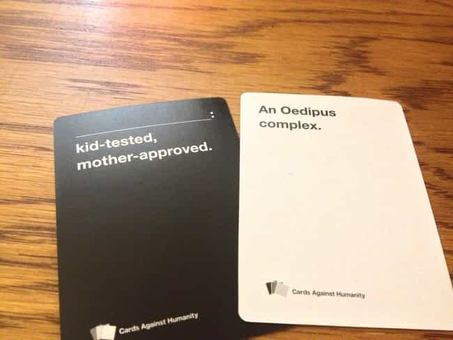 31 Hilariously Offensive Cards Against Humanity Moments