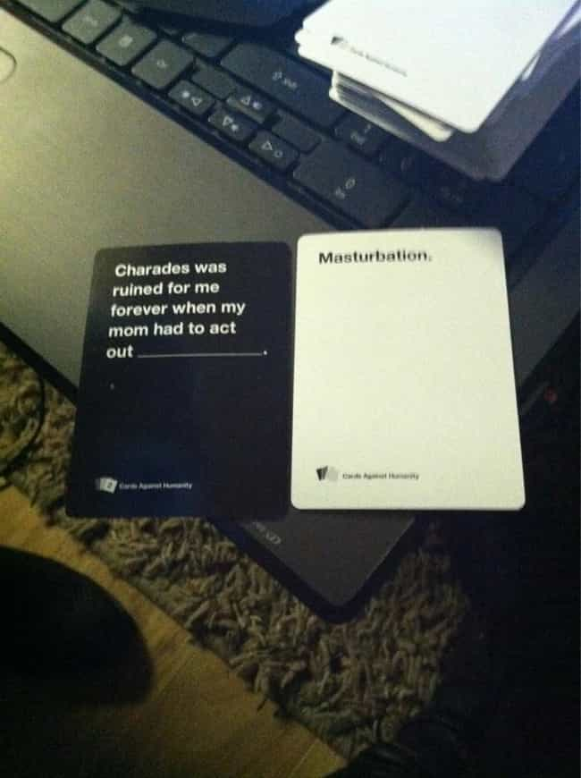This Would Ruin Any Game is listed (or ranked) 2 on the list 51 Hilariously Offensive Cards Against Humanity Moments