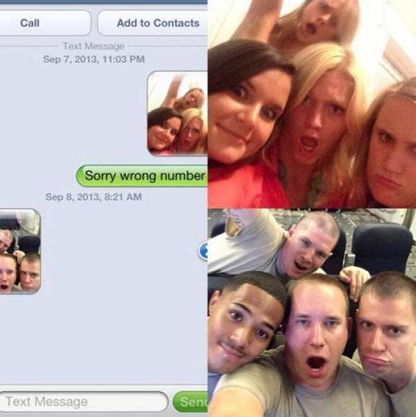 Random People Who Texted Wrong Number At Wrong Time