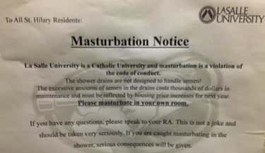 The Fap Tax is listed (or ranked) 2 on the list 56 Hilariously Passive-Aggressive College Dorm Room Signs
