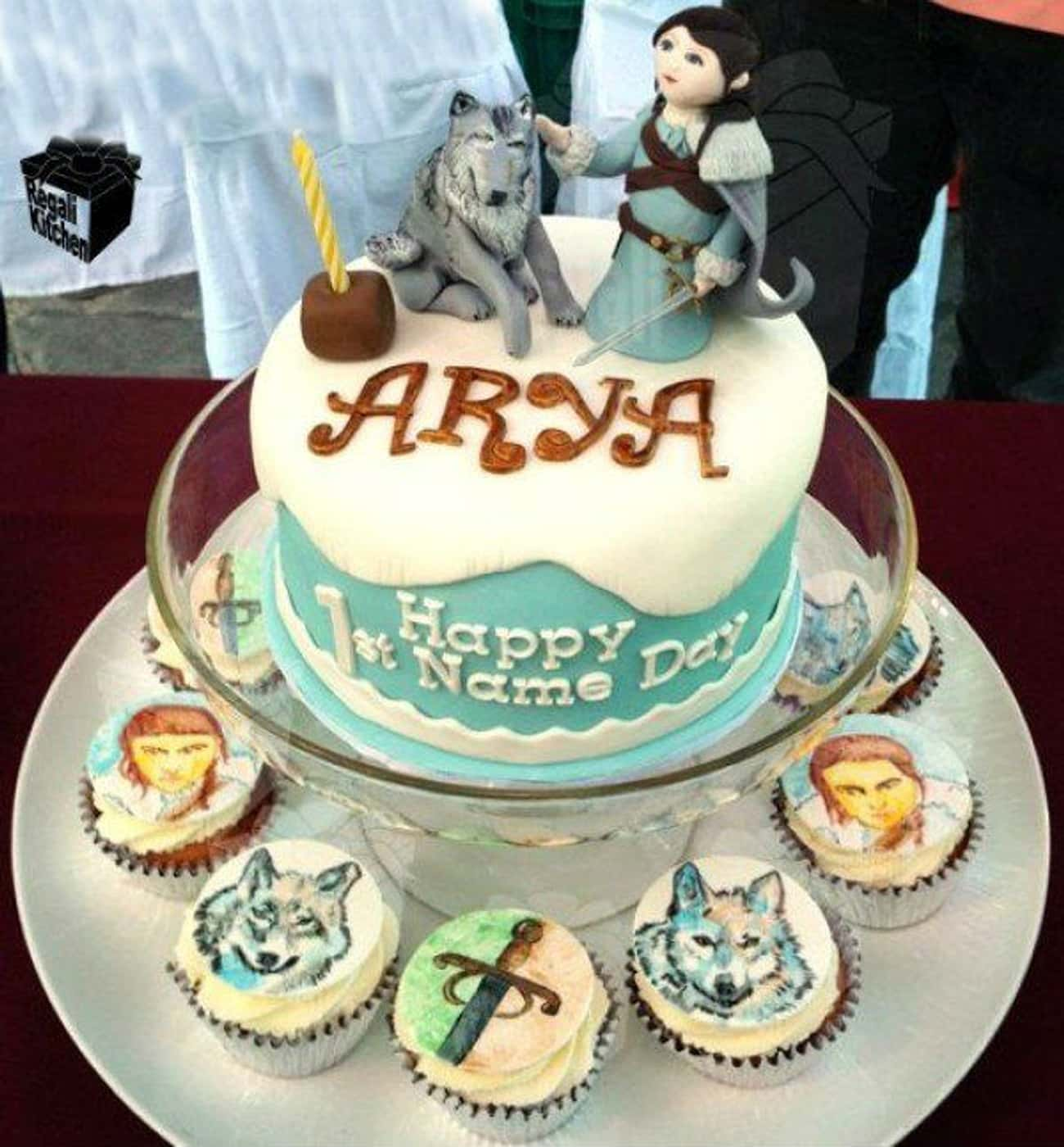 Somebody Named Their Kid Arya is listed (or ranked) 2 on the list 25 Game Of Thrones Cakes Just Waiting To Get Cut