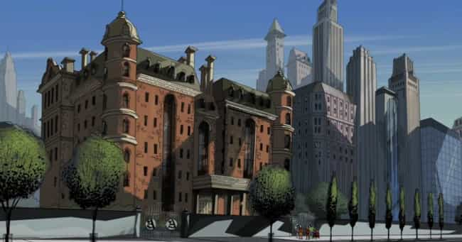 Avengers Mansion is listed (or ranked) 4 on the list Superhero Lairs