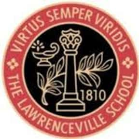 The Lawrenceville School is listed (or ranked) 6 on the list The Best Prep Schools in the World