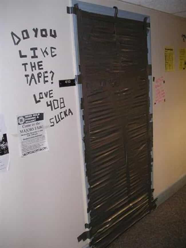 The Best College Dorm Room Pranks Of All Time Funniest