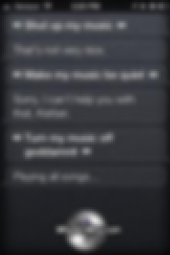 Siri's Going to Turn This ENTI... is listed (or ranked) 1 on the list 59 Siri FAILs That Will Ruin Your Day
