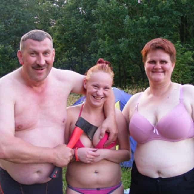 A Boob-Hating Family is listed (or ranked) 4 on the list The Greatest Awkward Family Photos In Internet History