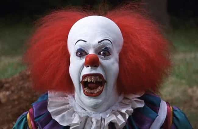 Pennywise the Dancing Clown is listed (or ranked) 3 on the list 50 Reasons Kids Have Always Hated Clowns. And So Have You.