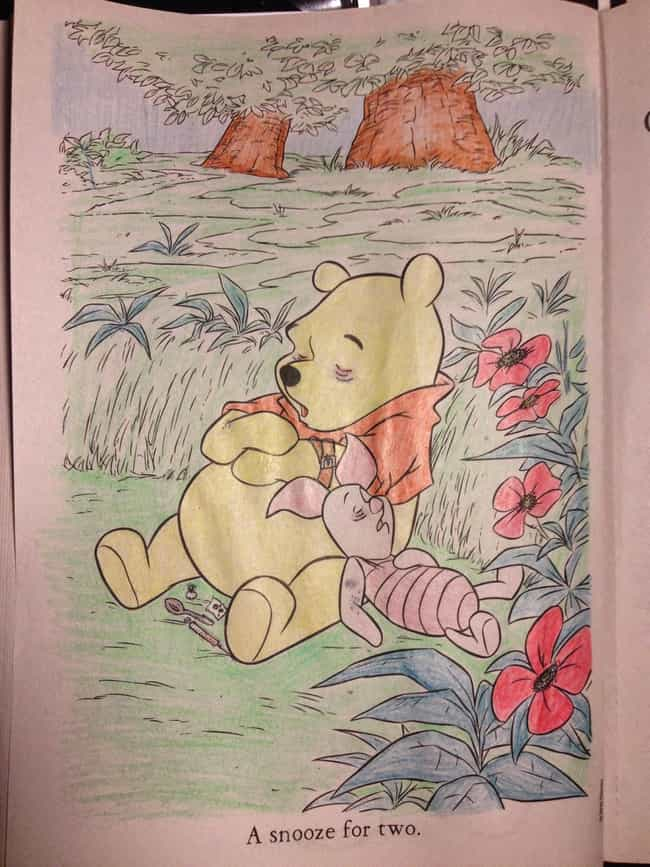 Adorable Is Listed Or Ranked 43 On The List 54 Coloring Book Corruptions That