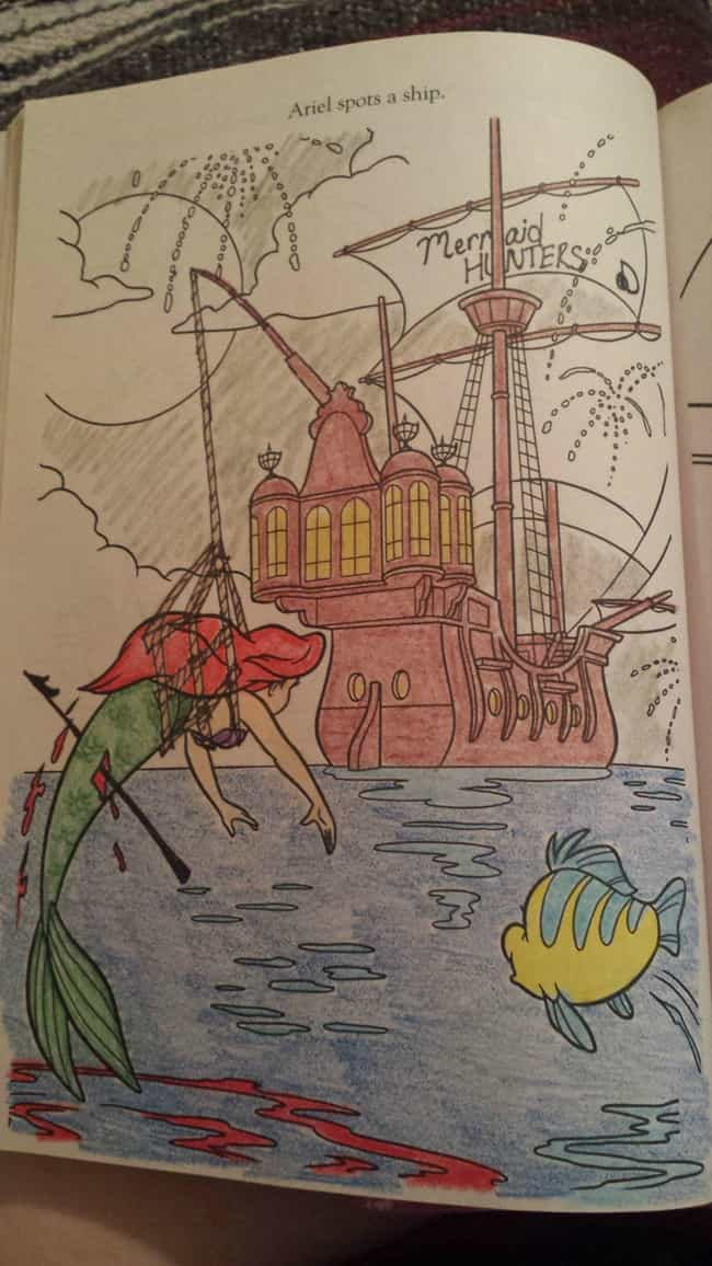 Deadliest Catch Disney Is Listed Or Ranked 5 On The List 54 Coloring