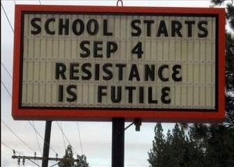 Random Funny School Sign Mistakes That'll Make You Smile