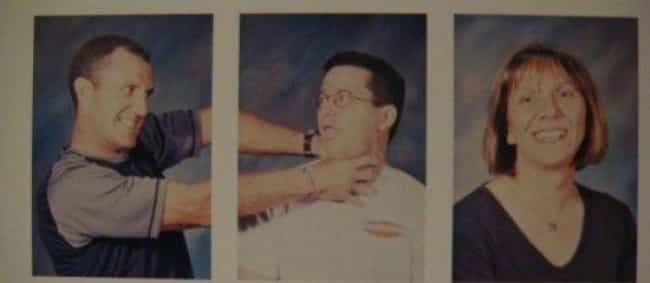 Teachers Who Don't Keep Their ... is listed (or ranked) 3 on the list 48Hilarious and Infamous School Picture Day Photos