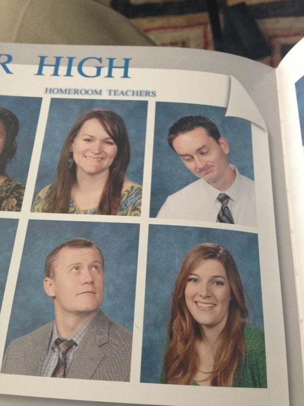 Random Hilarious and Infamous School Picture Day Photos