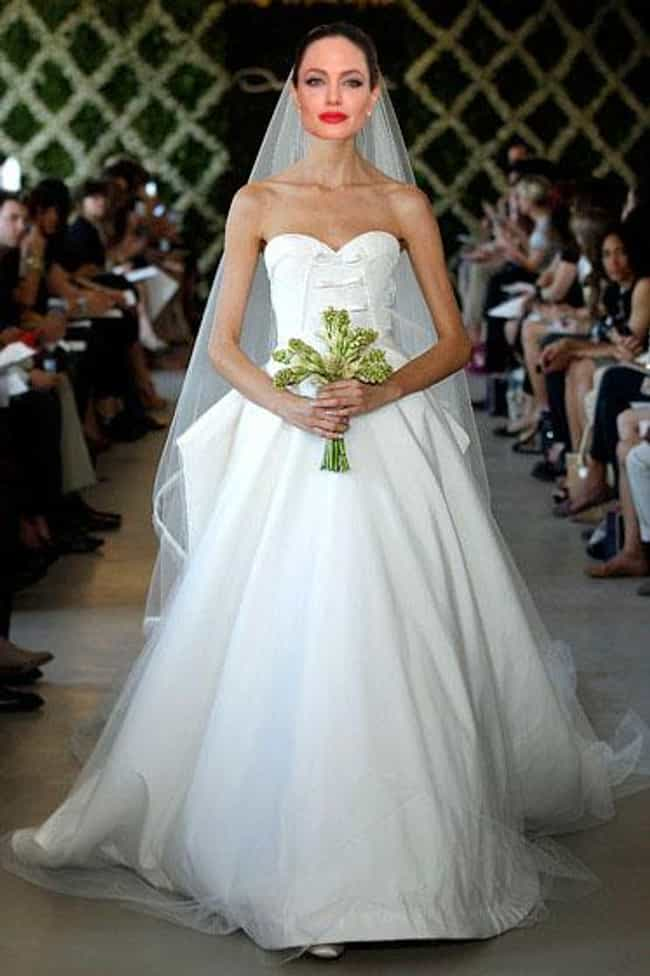 So Flowing is listed (or ranked) 2 on the list 14 Dresses Angelina Jolie Did Not Get Married In