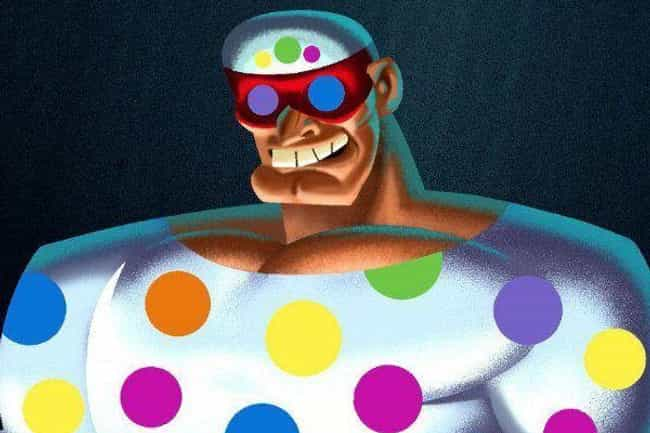 Mr. Polka Dot is listed (or ranked) 1 on the list The All Time Lamest Batman Villains