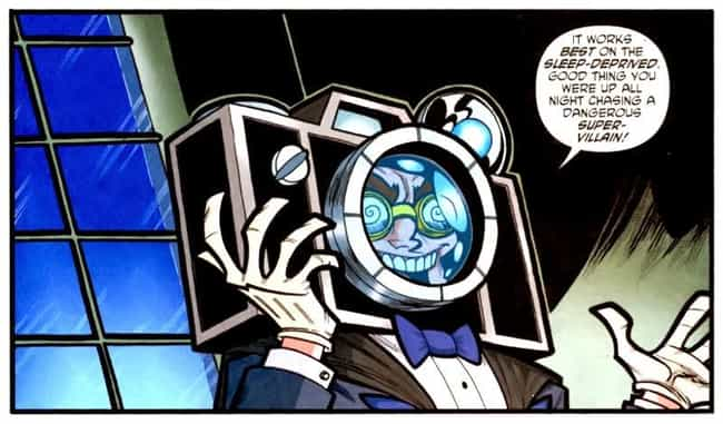 Mister Camera is listed (or ranked) 3 on the list The All Time Lamest Batman Villains