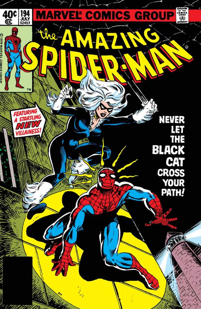Black Cat is listed (or ranked) 3 on the list The Many Girlfriends of Peter Parker / Spider-Man