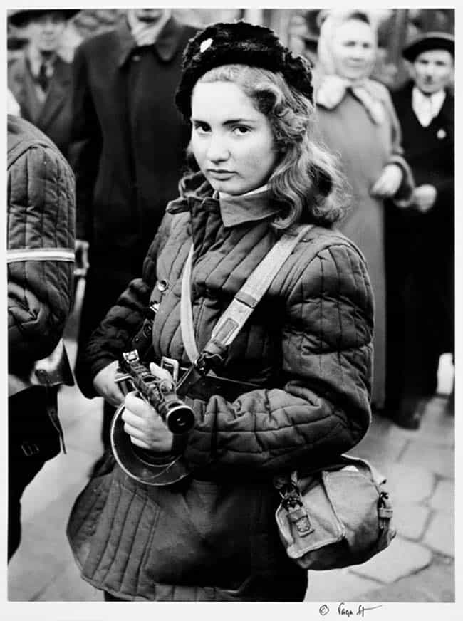 Erika, a 15-year-old Hungarian... is listed (or ranked) 3 on the list 30 Powerful Photos of Women Who Changed History