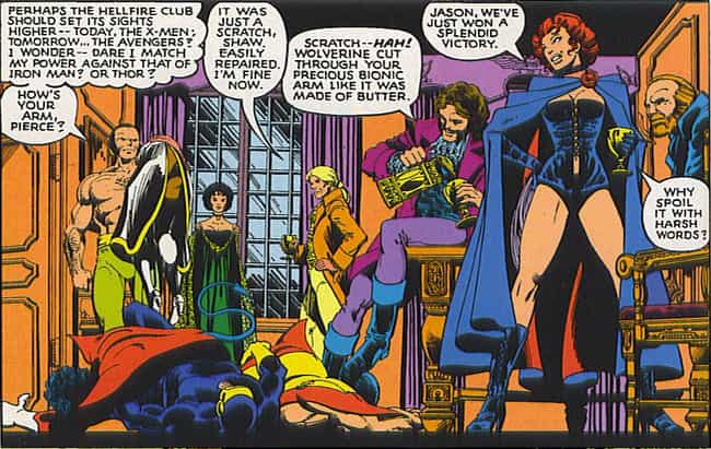 The Hellfire Club (The Inner C... is listed (or ranked) 3 on the list The Greatest Team of Villains to Go Up Against the X-Men