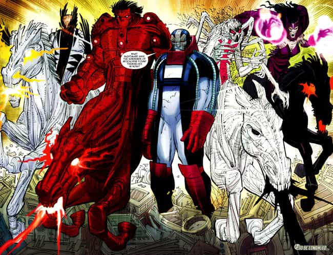 Horseman of the Apocalypse is listed (or ranked) 2 on the list The Greatest Team of Villains to Go Up Against the X-Men
