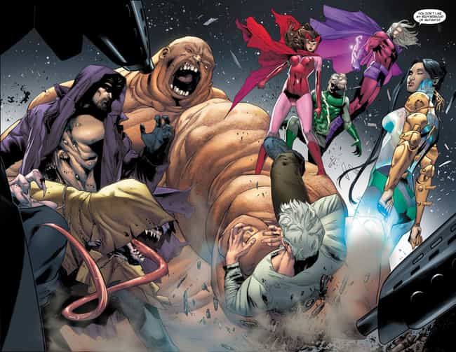 Brotherhood of Mutants is listed (or ranked) 1 on the list The Greatest Team of Villains to Go Up Against the X-Men